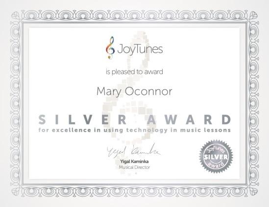 JoyTunes-certificate
