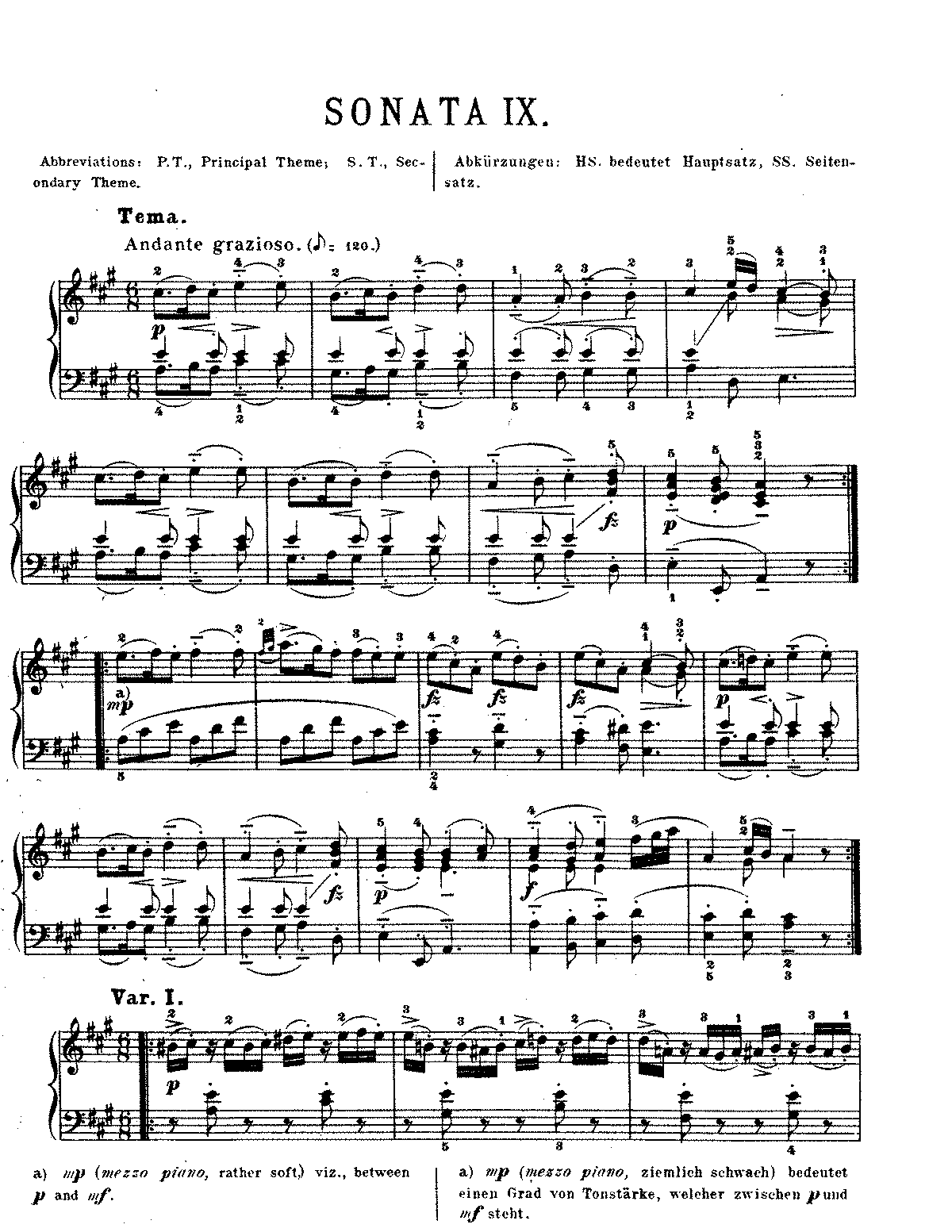 Analysis of mozart sonata k331