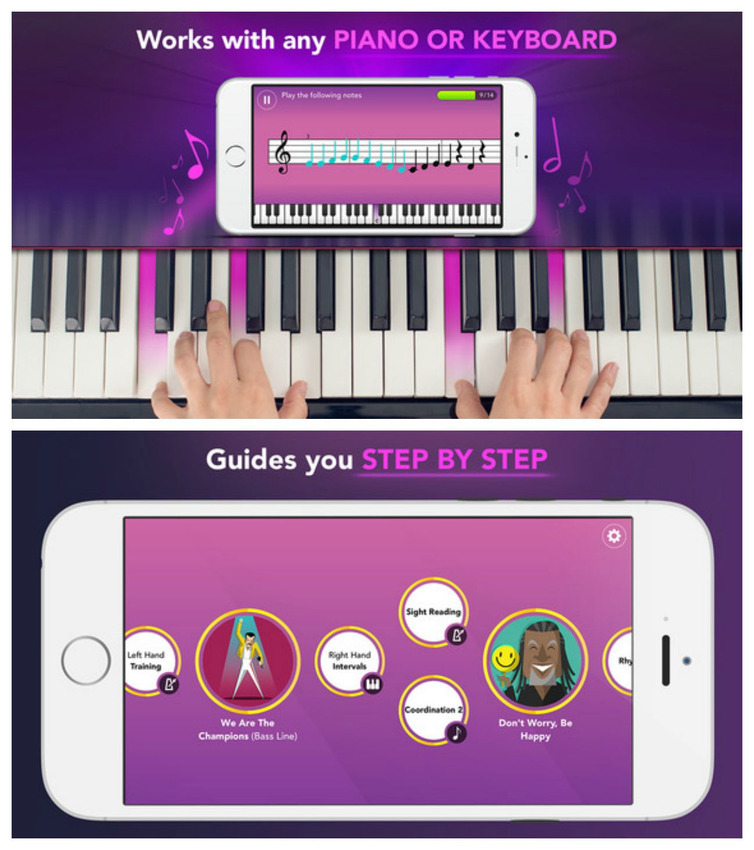 Virtual PIANO Keyboard (Play, Learn & Record ONLINE) #1 App